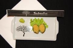 Sushi de ovas tobiko